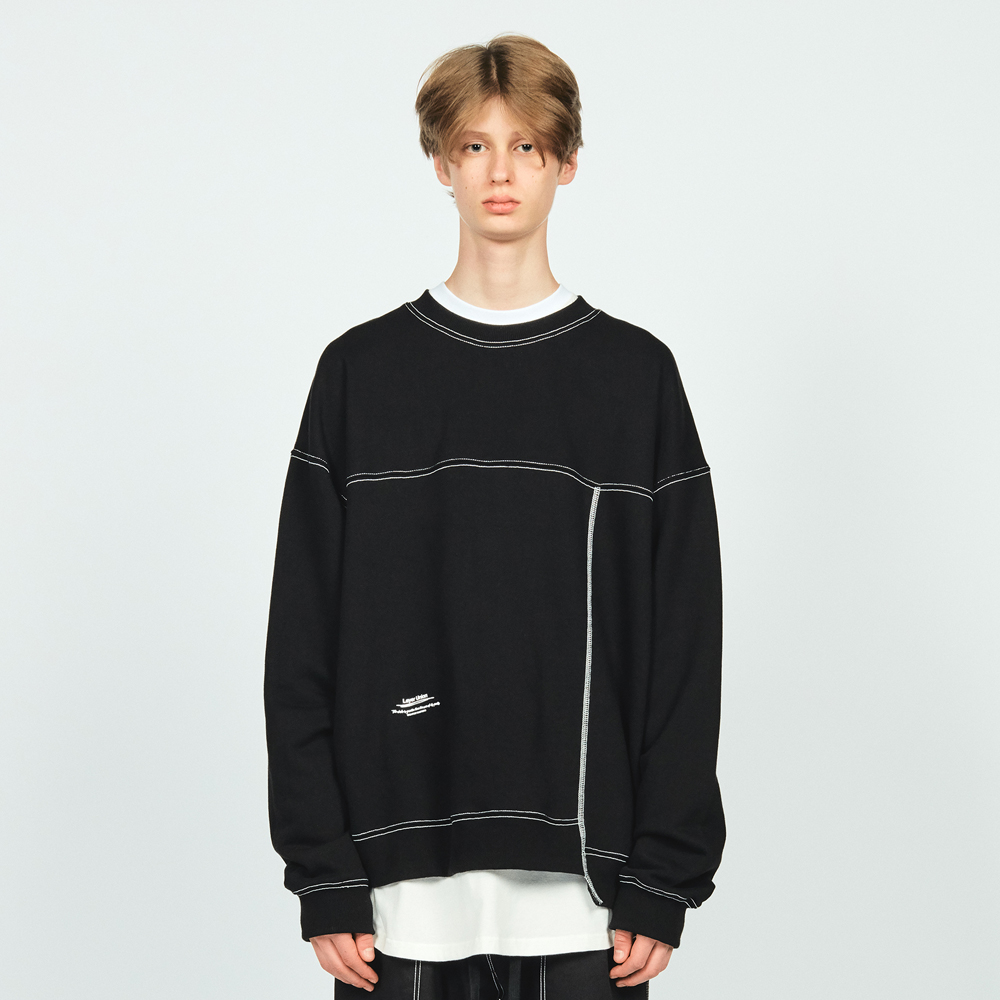 CTRS ST OVER SWEATSHIRT BLACK