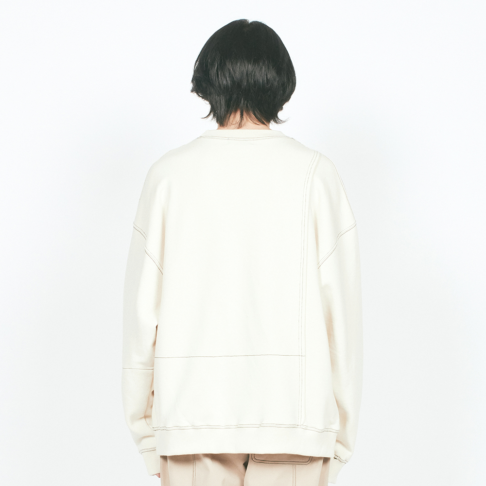 ST LABEL HEAVY OVER SWEATSHIRT