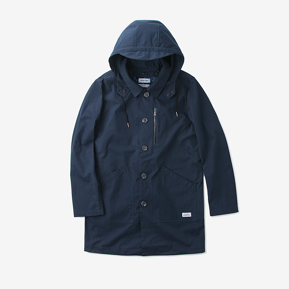 3-WAY MAC COAT NAVY