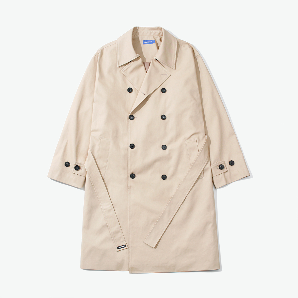 LSA OVER TRENCH COAT BEIGE