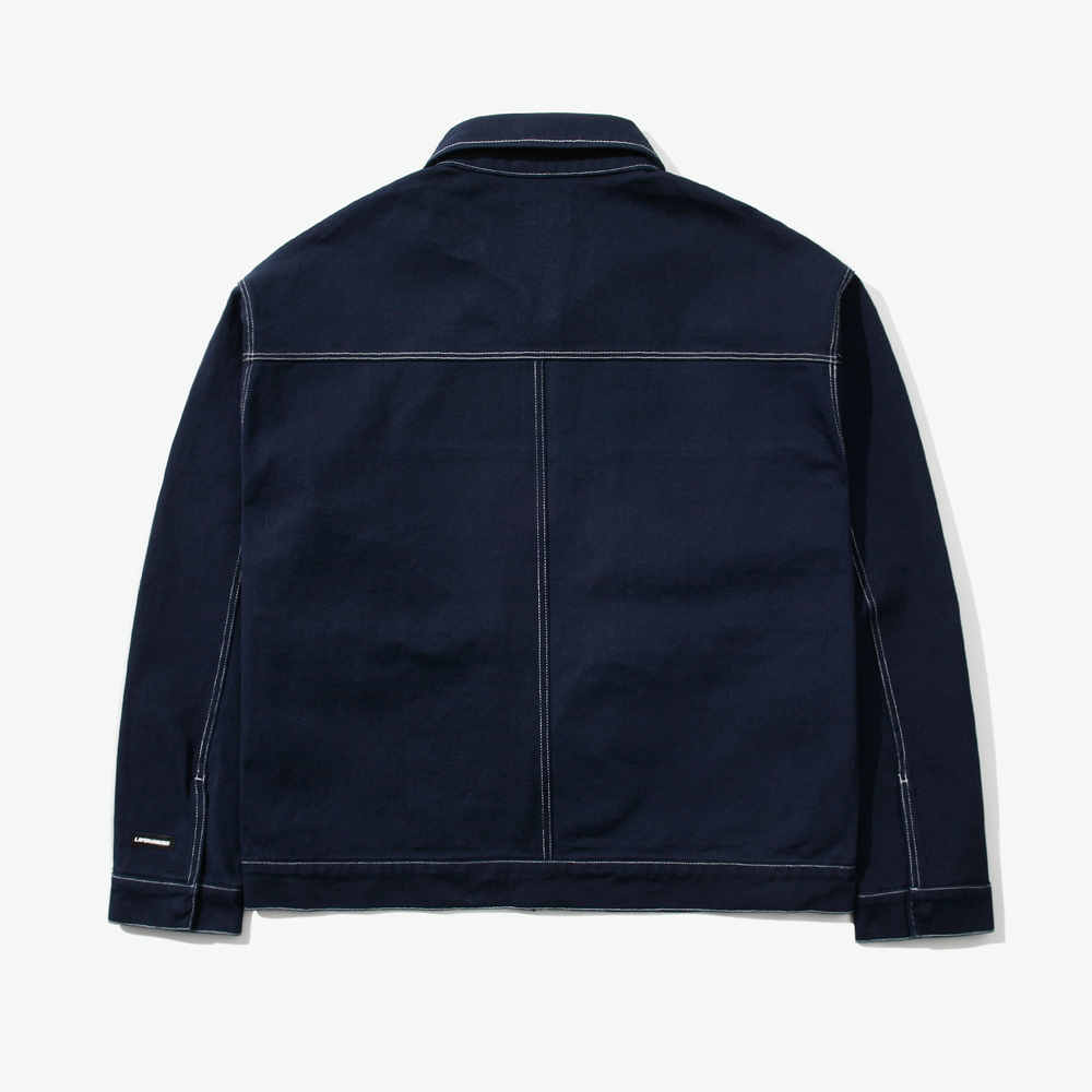 CUT CTRS ST OVER BLOUSON NAVY
