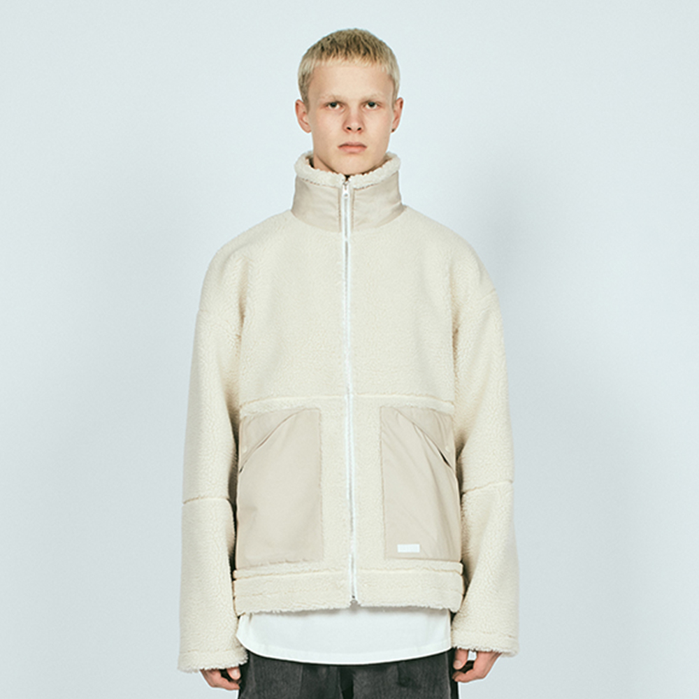 POCKET SHERPA HN JACKET IVORY