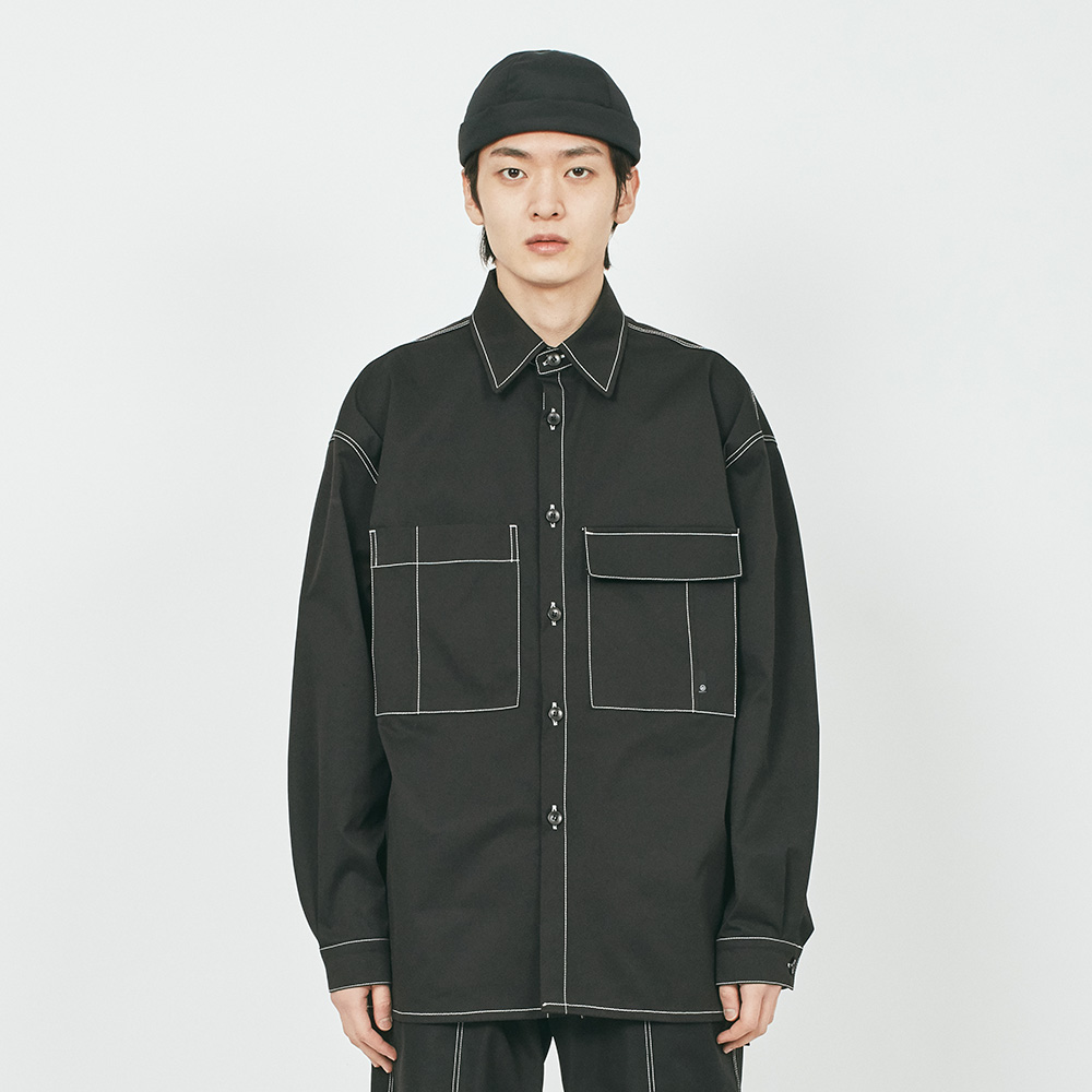 POCKET CUT CTRS ST OVER SHIRTS